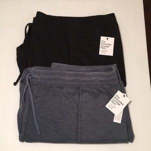 Bundle black and blue lounge pants